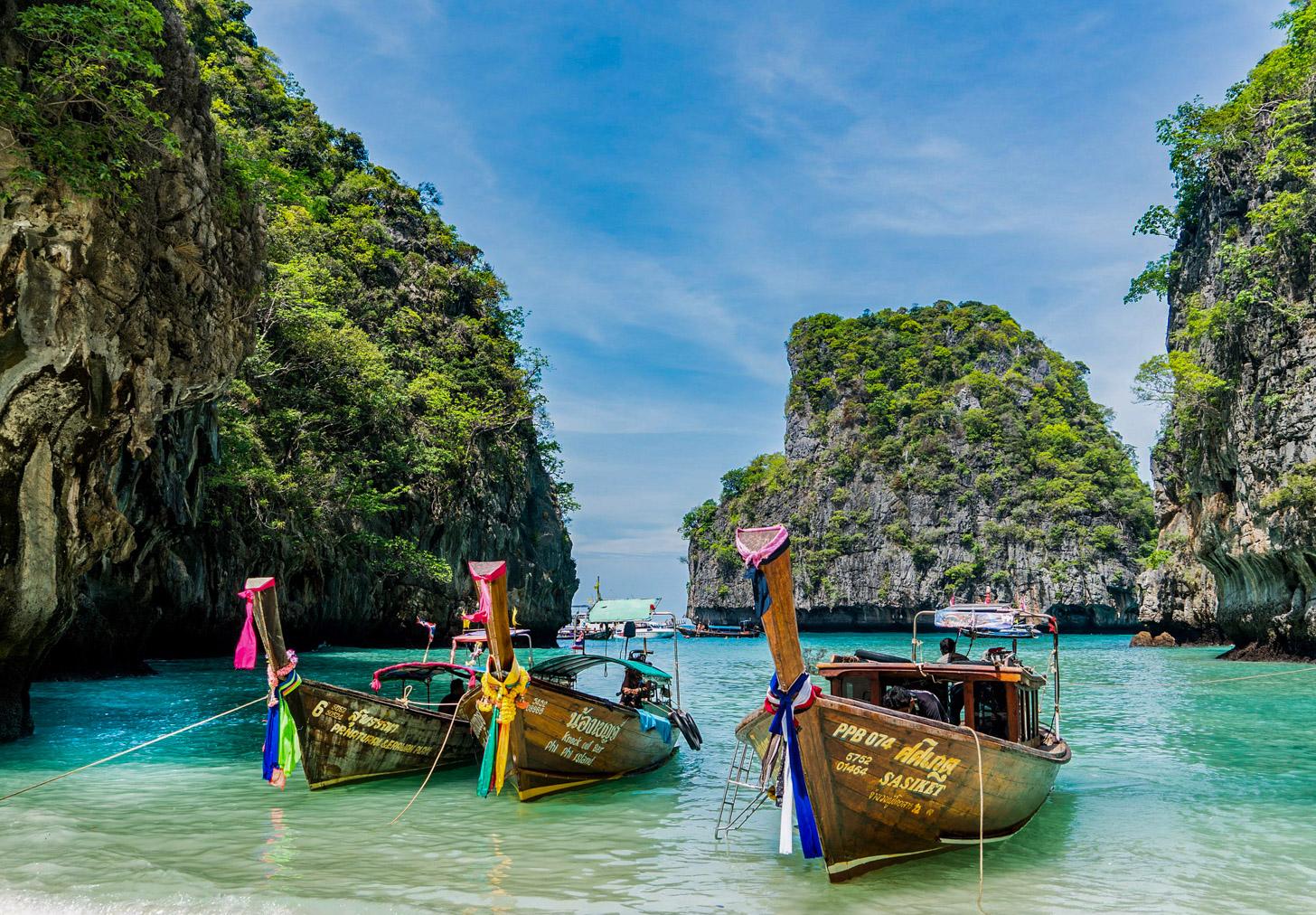 Dagtrip naar Koh Phi-Phi