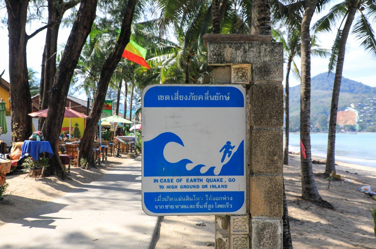 kans op een tsunami