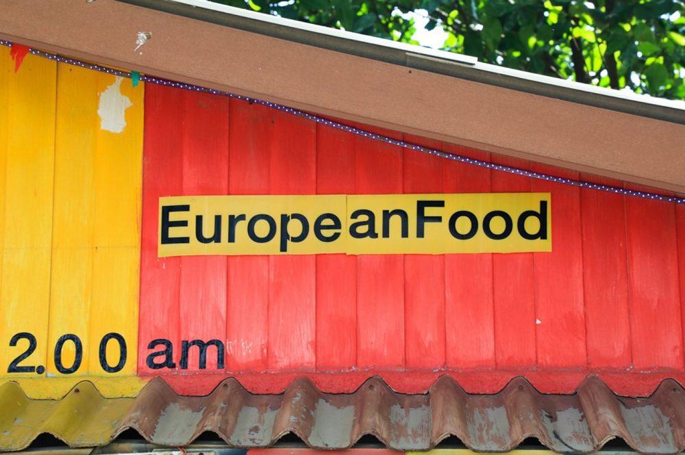 Europees eten in Phuket